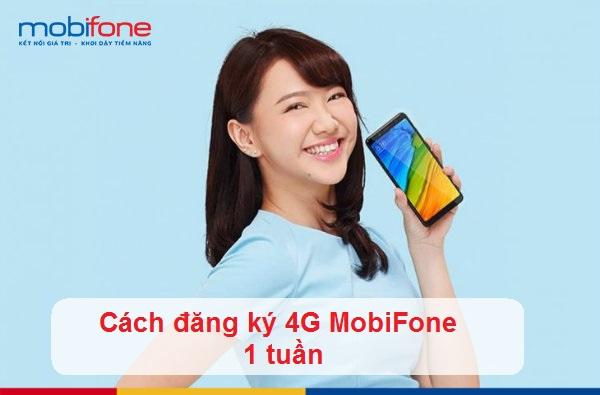 đăng ký 4G Mobifone tuần