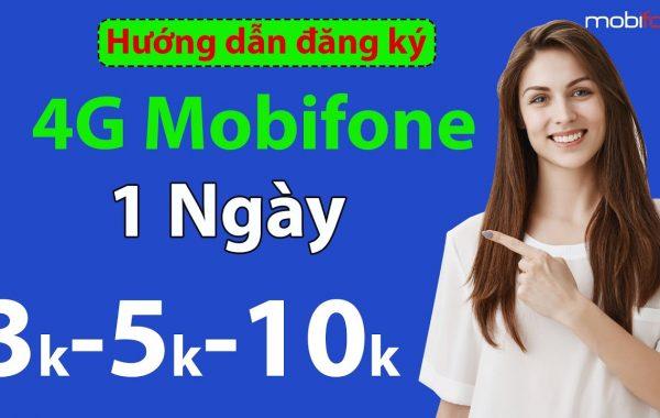 Đăng ký 4G Mobifone 1 ngày 3k có ngay 400MB truy cập internet